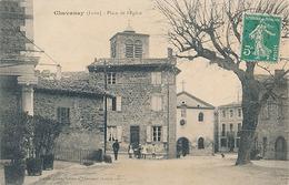CHAVANAY - PLACE DE L'EGLISE - Otros Municipios