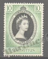 Maurice - Mauritius - Mauricio 1953 Yvert 240, Wueen Elizabeth II Coronation - MNH - Mauritius (1968-...)