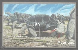Maurice - Mauritius - Mauricio 2009 Yvert BF 30, Fauna, Reptiles, Giant Tortoise - MNH - Mauritius (1968-...)