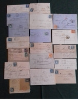France - Période Classique - Lot De 19 Lettres (4G31493) DC0083 - 1849-1876: Classic Period