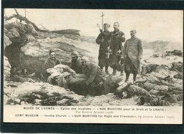 CPA - Nos Martyrs Pour Le Droit Et La Liberté, J. Aubert, 1916 - Guerre 1914-18