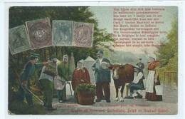AUX TROIS PIERRES - Groeten Uit Nederland , Duitschland , Belgïe En Neutral-Gebiet ( Moresnet ) - Plombières