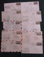 Canada - Poste Aérienne - Lot De 19 Lettres 1er Vol (5G24398) DC0084 - Poste Aérienne