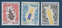 TAAF - YVERT N° 49/51 ** / MNH - INSECTES - COTE = 69 EUR. - Unused Stamps