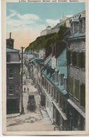 LITTIE CHAMPLAIN STREET AND CITADEL QUEBEC - Québec - La Citadelle