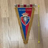 Flag (Pennant / Banderín) ZA000069 - Football (Soccer / Calcio) Spain Club Atlético Osasuna - Habillement, Souvenirs & Autres