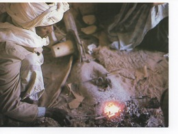 Forgeron Touareg à Tamanrasset - Artisanat En Algérie - Craft