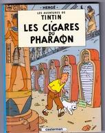 Tintin : Les Cigares Du Pharaon : BD En Format Réduit. - Hergé