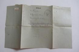 Lettre Dabo Soldat - Documents