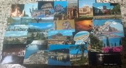 100 CARTOLINE VARIE VIAGGIATE E NO    (111) - 100 - 499 Cartoline
