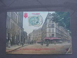 Cpa 9x14 V DD Paris Xeme Boulevard De La Villette Et Rue De Sambre Et Meuse Commerce De Machine A Coudre Bon Etat - Arrondissement: 10
