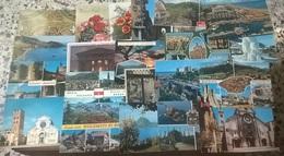 100 CARTOLINE VARIE VIAGGIATE E NO    (109) - Cartoline