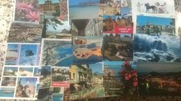 100 CARTOLINE VARIE VIAGGIATE E NO    (108) - 100 - 499 Cartoline