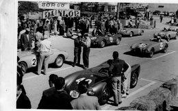 Grand Prix De Agadir En 1955  -  Gordini - Porsche -  15x10 PHOTO - Grand Prix / F1