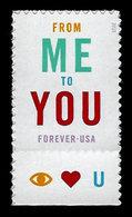 USA, 2015, Scott #4978, From Me To You, MNH, VF - Ongebruikt