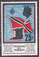 Trinidad & Tobago. 1969 Definitives. 25c MH. SG 348 - Trinidad & Tobago (1962-...)