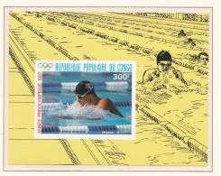 Congo 1988 Seoul Olympic Games Souvenir Sheet MNH/**  (H42) - Sommer 1988: Seoul