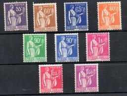 France  /   Série N 360 à 371 / NEUFS Avec Charnière  / Côte 16 € - Unused Stamps