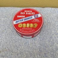 SCATOLA IN LATTA DELLA BUTTER COOKIES IMPORTED DAN BAKERY DANISH - - Scatole