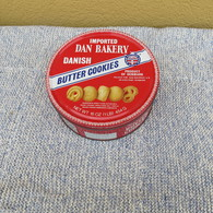 SCATOLA IN LATTA DELLA BUTTER COOKIES IMPORTED DAN BAKERY DANISH - - Boxes