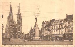 CP - Belgique - Flandre Occidentale - Oostende - Ostende - Eglise SS.-Pierre Et Paul - Oostende