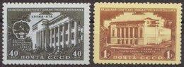 Russia 1950 Mi 1537-1538 MNH OG ** - 1923-1991 URSS
