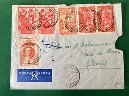 Cote Française Des Somalis - Lettre De Djibouti à Paris 1939 - (C161D) - Côte Française Des Somalis (1894-1967)