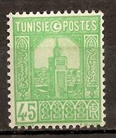 COLONIES FRANCAISES TUNISIE  N°206 (NSG) SUPERBE LOT... - Neufs
