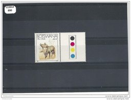 BOTSWANA 1983 - YT N° 479 NEUF SANS CHARNIERE ** (MNH) GOMME D'ORIGINE LUXE - Botswana (1966-...)