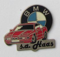 1 Pin's BMW  -  S.A. HAAS Signé TOUL'EMBAL SA - BMW