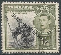 Malta. 1948-53 Self Government. 1/6 Used SG 244 - Malta