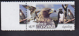 Mexique: Aigles  YT 1987 Neuf - Aquile & Rapaci Diurni