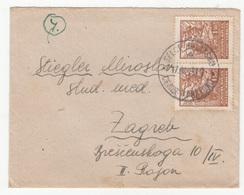 Yugoslavia, Letter Cover Travelled 1948 Selce Hrvatsko Pmk B181001 - 1945-1992 Sozialistische Föderative Republik Jugoslawien