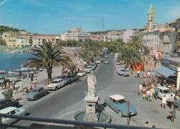 CITROEN-DS 21-23-A SANARY-COTE D'AZUR-FRANCIA-CARTOLINA VIAGGIATA IL 15-8-1972 - Voitures De Tourisme