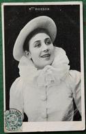 Célébrité Melle BUISSON - Artiste Photo  Noir & Blanc - 1905 - Cachets Paris & Nuits Sur Armançon - Photos