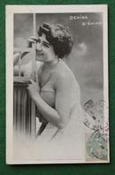 Célébrité Denise D'Evian - Artiste - Photo De Charme Noir & Blanc - 1905 - Cachets Paris & Nuits Sur Armançon - Photos