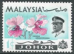 Johore (Malaysia). 1965 Orchids. 1c MH. SG 166 - Malaysia (1964-...)