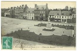 CPA - 76 - BACQUEVILLE EN CAUX - Place Du Marché - Dieppe