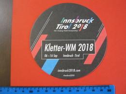 BIER N. 1 SB SOUS BOCKS SOTTO-BOCCALE BIRRA CERVEZA 2 FOTO – INNSBRUCK 2018 ELITE SPORT WORLD CICLISMO SCI SKI CLIMBING - Sotto-boccale