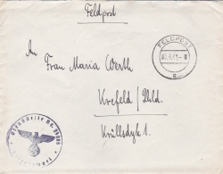German Feldpost WW2: From Osijek In Croatia - 1. Kompanie Landesschützen-Bataillon 286 FP 24086 P/m 3.6.1941 - Letter In - Militaria