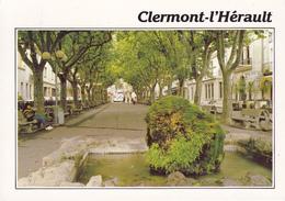 34 CLERMONT L'HERAULT / VUE UNIQUE / ALLEE SALENGRO - Clermont L'Hérault