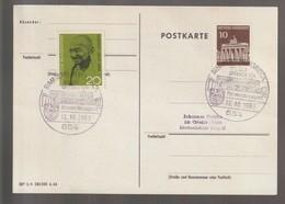 B 727) SSt 12.10.1969   654 Simmern Hunsrück; Post Fernmeldezeugamt, Gebäude - Covers & Documents