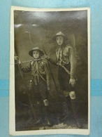 Carte Photo Scouts - Scoutisme