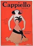 BELLE AFFICHE ORIGINALE EXPOSITION DESSINS CAPPIELLO GRAND PALAIS PARIS 1981 Superbe Illustration Art Nouveau 40 X 60 - Plakate
