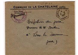 JURA : Circuits  Postaux Automobiles : ARBOIS CP 11 La Chatelaine 1951 - Postmark Collection (Covers)