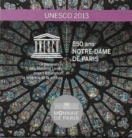 10 Euros (BE, En Argent) - UNESCO 2013, France - 850 Ans De Notre-Dame De Paris. Qualité Impeccable. (4 SCANS). - France