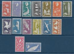 GEORGIE DU SUD (FALKLAND) - YVERT N° 9/23 ** / MNH - ANIMAUX - COTE = 324 EUR. - Georgias Del Sur (Islas)