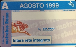 Paco \ PF 1066 \ Bis Agosto 1999 \ Nuova - Italië