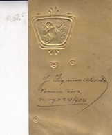 JOSE FIGUEROA ALCORTA. PRESIDENTE ARGENTINO. SIGNEE SUR POSTCARD YEAR 1904 CIRCULEE CORDOBA. ORIGINAL- BLEUP - Autographes
