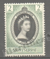 Montserrat 1953 Yvert 129, Queen Elizabeth II Coronation - MNH - Montserrat